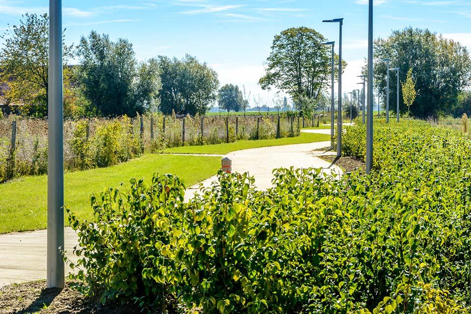 Bouwproject in het groen - Langwater