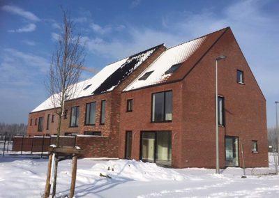 Langwater Kortrijk januari 2019 - Halfopen bebouwing