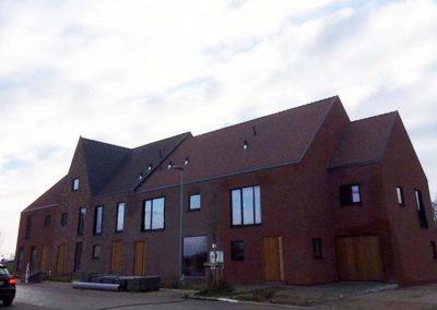 Langwater Kortrijk januari 2019 - halfopen en gesloten bebouwing