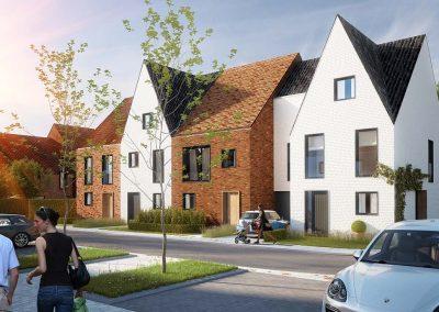Langwater bouwproject Kortrijk