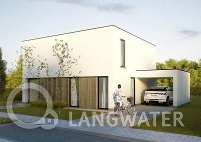 Villa Langwater - woningbouw - villabouw Kortrijk