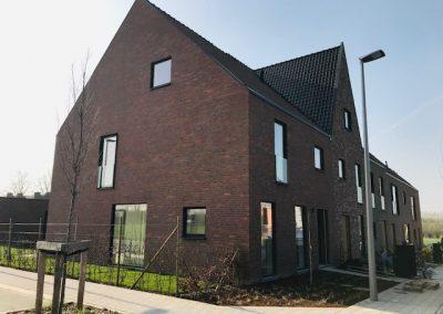 Nieuwbouwproject aan de rand van Kortrijk