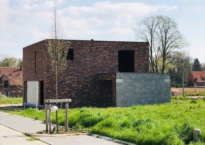 Bouw nieuwbouwwoningen Kortrijk