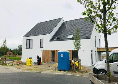 Koppelwoning nieuwbouwproject Kortrijk - Langwater