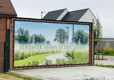 Stedelijk leven in het groen