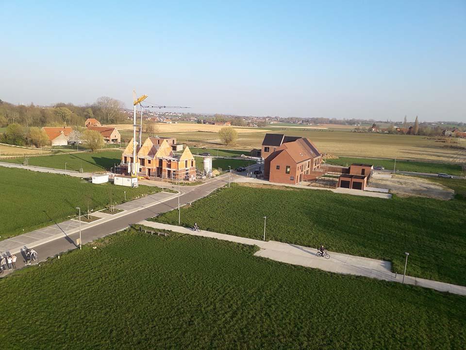 Nieuwbouwproject Kortrijk - Langwater