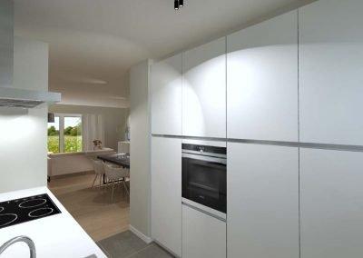 Halfopen woning - Langwater - Nieuwbouwproject - Kortrijk