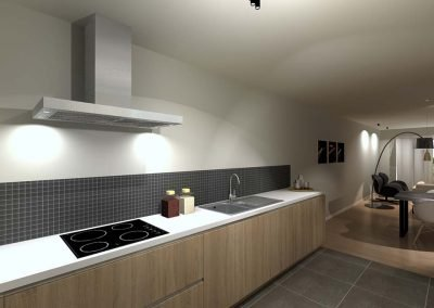 LAngwater - nieuwbouwproject - moderne keuken