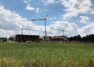 Bouwproject Langwater Kortrijk juli 2020