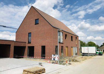 Nieuwbouwwoningen Langwater Kortrijk juli 2020