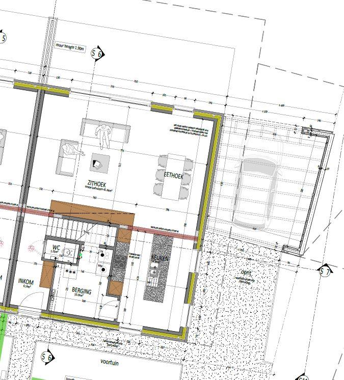 Plan lot 4 - gelijkvloers